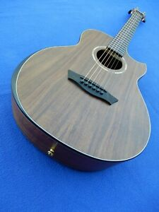 Washburn g-mini 55 comfort travel small scale acoustic guitar - koa