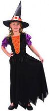 Costumi e travestimenti nero in poliestere vestito per carnevale e teatro per bambine e ragazze