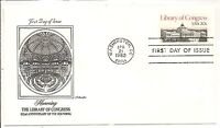 US SC # 2004 Library Of Congress FDC. Artmaster Cachet.