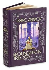 Isaac Asimov The Foundation Trilogy Leatherbound Classics Book Empire Second New