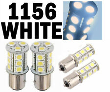 White 18 LED Car Auto Tail Rear Turn Brake Light Bulbs Lamp BA15S 1156 5007 S25