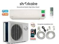 Super Efficient  9000 BTU Ductless Mini Split Air Conditioner
