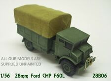 wargames vehicles. WW2 Allied 3 ton Truck CMP F60L. 1/56 scale for 28mm  (806)