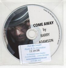 (HF710) Barry Adamson, Come Away - 2016 DJ CD