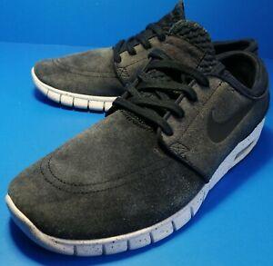 Nike STEFAN JANOSKI MAX L Obsidian Black White 685299-401 Men's Shoes Size 10 US