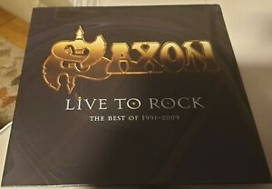 Saxon, Live To Rock, The Best of 1991-2009 (Vinyl Album)
