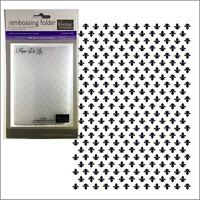 Fleur De Lis embossing folder - Couture Creations embossing folders All Occasion