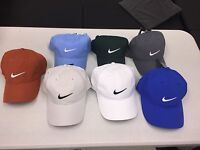 ``NEW NIKE GOLF TECH SWOOSH HATS- Adjustable to fit all sizes