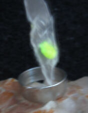 letter S ring TALISMAN witches spell to power lose weight haunted loss sz 8 3/4