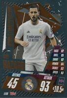 Match Attax 2020/21 Champions League LIMITED EDITION Eden Hazard BRONZE LE6B