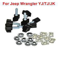 Hard Top Thumb Screw Bolt Fastener Washer Nut For Jeep Wrangler YJ JK TJ 87- 17