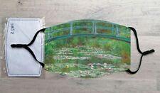 The Japanese Footbridge face mask (Claude Monet)