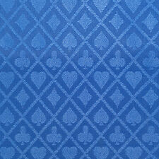 PRO Suited Speed Cloth for Poker Tables - Solid Royal Blue (9 Feet)