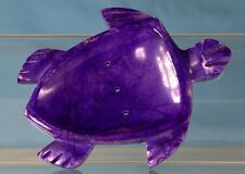 TURTLE SOAP DISH   Trinket tray purple marble NEW!    Free Priority Shipping!