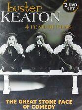 4 Buster Keaton Comedies The General Steamboat Bill Jr College Misadventures of