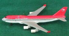 1:500 SCALE DIECAST METAL NORTHWEST AIRLINES BOEING 747-400