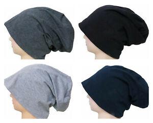 Long Beanie XXL Mütze Slouch Trend Damen Herren Jersey Unisex Mützen