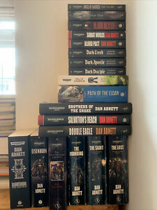 Warhammer 40k Black Library assorted novels books multi-listing
