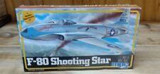 MPC 1/72 F-80 SHOOTING STAR MODEL #1-4104 NISB FIRST OPERATIONAL US JET FIGHTER