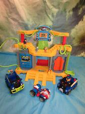 Paw Patrol Jungle Rescue Monkey Temple Playset w figures & vehicles lights sound