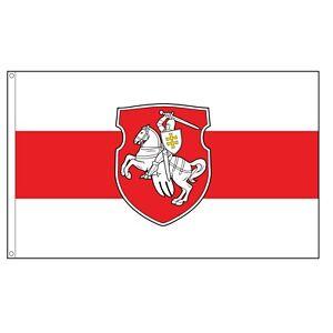 Belarus Pagonya Flag 3 x 5 Ft White Red White Knight Freedom Original banner new