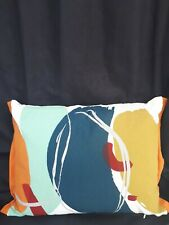 """Rectangle Scatter Cushion Covers Pillow 17"""" x 13 """" 43 x 33 cm grey garden chair"""