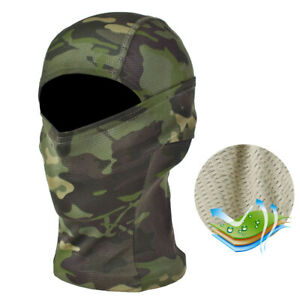 Tactical Camouflage Hunting Balaclava Face Mask Army Military Airsoft Game Hat