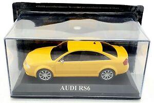 EBOND Modellino Audi RS6 - giallo - Die cast - 1:43 - 0082.