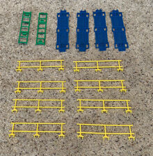 Lot of 14 ROKENBOK TOY COMPANY SYSTEM LADDER, RAIL WALKWAY PIECES