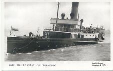 Isle of Wight Shanklin Paddle Steamer Modern Postcard by Pamlin SM604