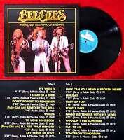 LP Bee Gees: Their Most Beautiful Love Songs (Mr. Music BRLP45) Belgien 1986
