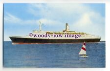 LS0478 - Cunard Liner - Queen Elizabeth 2 - postcard