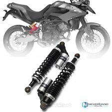 """Universel Paire 15"""" 380mm Air Gaz Amortisseur Suspension Noir & Argent Pour Moto"""