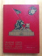 1984 U. S. MARINE CORPS BASIC SCHOOL YEARBOOK, 1100 - 1103, PARRIS ISLAND, SC