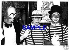 RARE ORIGINAL PRESS PHOTO PRINCESS CAROLINE OF MONACO - THE CLOWN PRINCESS 1975