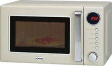 Bomann MWG 2270 Retro Mikrowelle mit Grill Timer 20 Liter 1000 watt 60544766