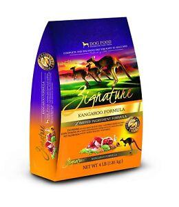 ZIGNATURE Dog Food Kangaroo (4 lb)