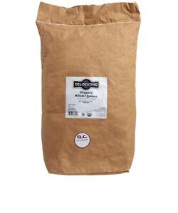 Bulk Supply 25 lb Organic Gluten Free Easy Preparation White Quinoa