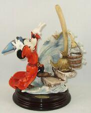 "Giuseppe Armani Disney Figurine ""Sorcerer'S Apprentice"" 0325C With Original Box"