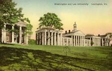 1930 LEXINGTON VA Washington and Lee University W&L #2 postcard