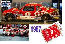 CD_DC_1987 #9 Bill Elliott 1987 Coors Ford Thunderbird   1:64 scale decals