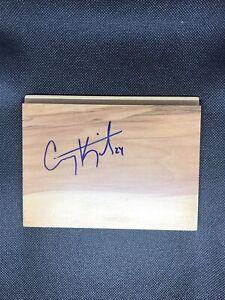 Corey Kispert Signed Floorboard - Gonzaga Bulldogs Autograph - NCAA Basketball