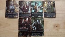 Resident Evil Deck Card Game Albert, Hunk, Yoko, Ada, Alyssa, Cindy