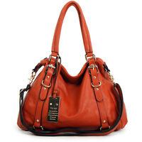 New leather HandBag Shoulder Women bag brown black hobo tote purse designer l189