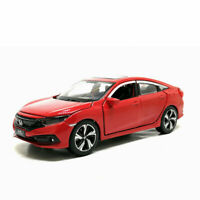 1:32 Honda Civic Model Car Alloy Diecast Toy Vehicle Gift Collection Kids Red