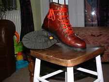 Timberland boots size 9.5 Brown Heritage Alpine Hiker Vintage style R.R.P £225