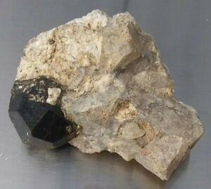 """Garnet Crystal in Matrix 2-1/4"""" 67g Madagascar #4"""