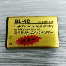 2450mAh BL-4C Battery For Nokia 7200 3500C 2220S C2-05 6100 6300 1202 Warranty