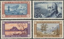 Switzerland 1929 Pro Juventute/Welfare Fund/Lakes/Mountains/Cattle 4v set n45453