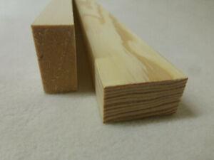 (00)  1Stk 100cm Rechteckleiste Kiefer 20x40mm Vierkant Holzleisten